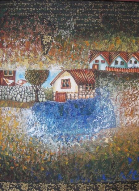 Край синьото езеро (снимка)