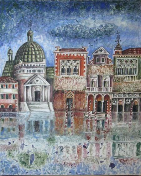 Венеция през зимата (снимка)